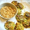 Picture of Courgette Fritters with Dukkah and Coriander Yogurt Dip