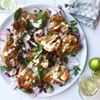 Picture of Grilled Tahini Chicken Wings with Pomegranate, Coriander and Coconut Salad