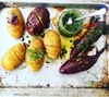 Picture of Root Veggie Hasselbacks with Salsa Verde