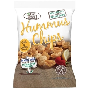 Picture of Eat Real-Hummus Chips Chilli & Lemon
