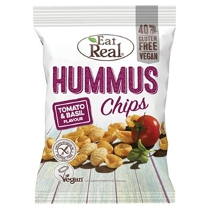 Picture of Eat Real-Hummus Chips Tomato & Basil