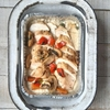 Picture of Tuscan Roast Chicken With Creamy Mushroom Sauce